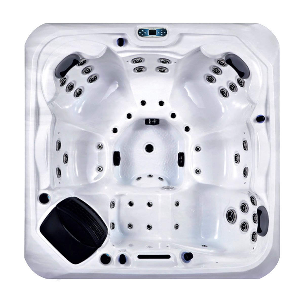 Lugano Hot Tub Overhead